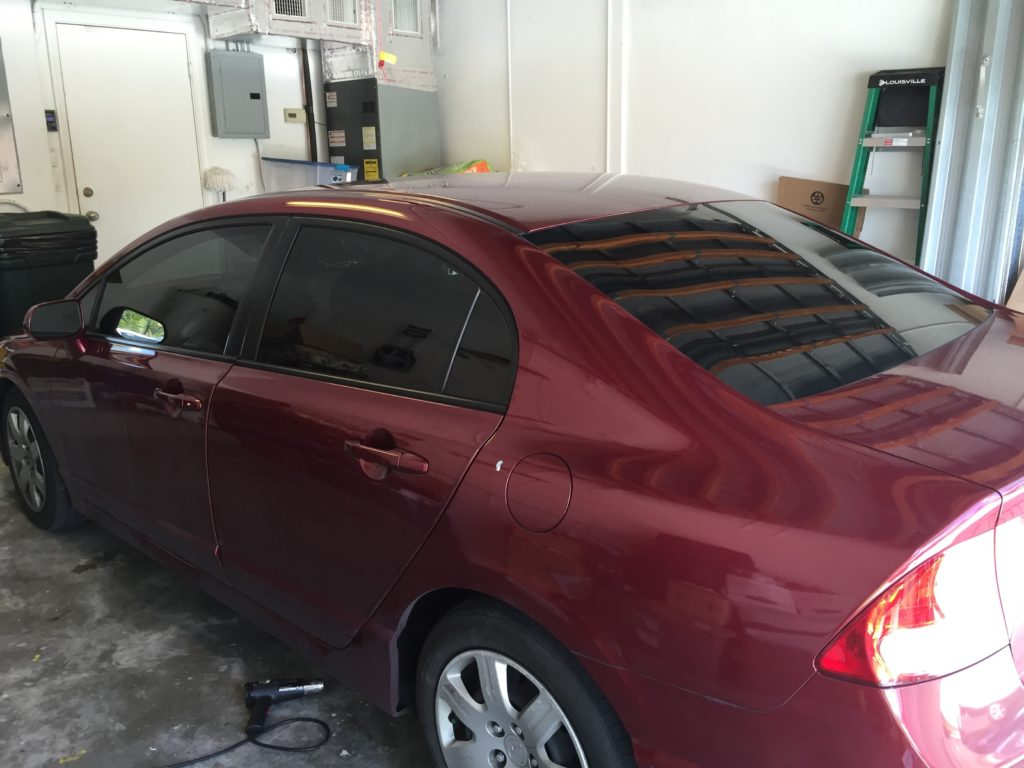 automobile window tinting