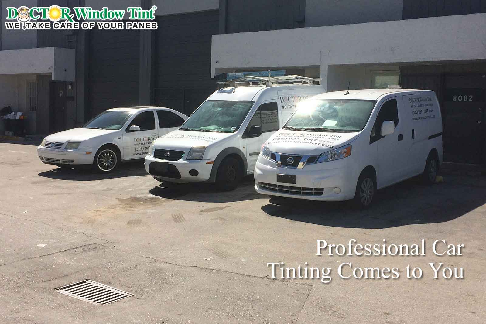 Professional Car Tinting